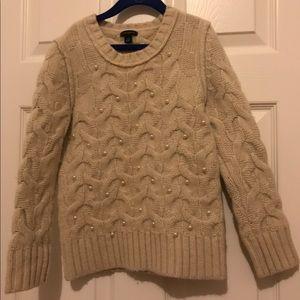 Ann Taylor Sweaters - Ann Taylor Snow Pearl Sweater